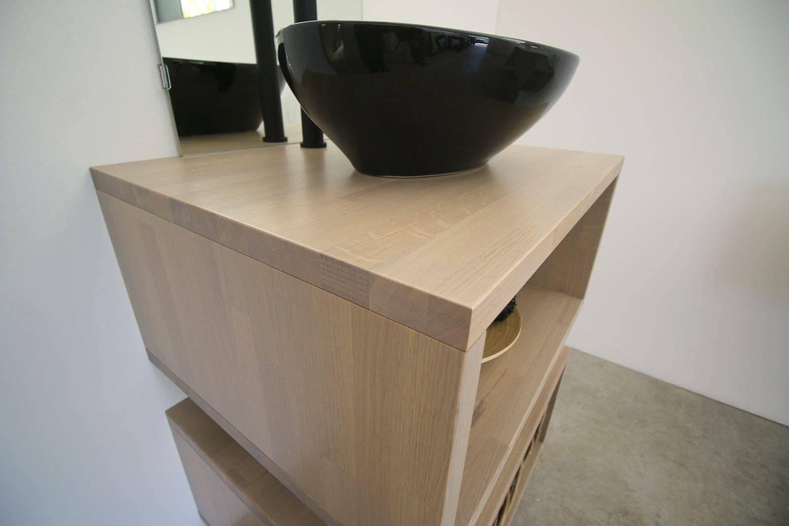 mobile bagno mesal pescara in legno massello