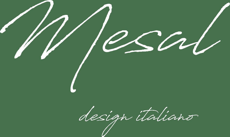 mesal logo bianco